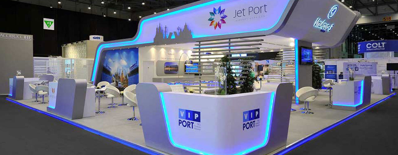 Exhibition stand in Dubai