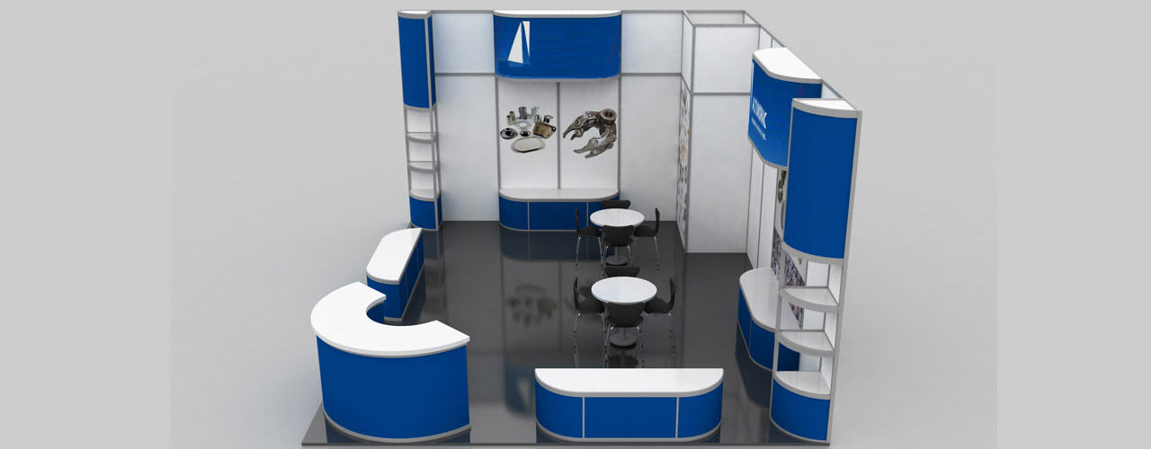 Modular Exhibition Stand By Me : Modular exhibition stands advantages