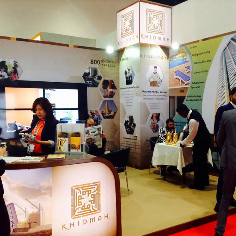 Exhibition Stand Fitting Jobs : Exhibition stand builders in uae stand installation services